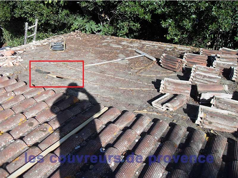 Recherche de fuites et infiltrations Infiltration toiture